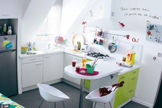Caómo amueblar una cocina pequeña.
